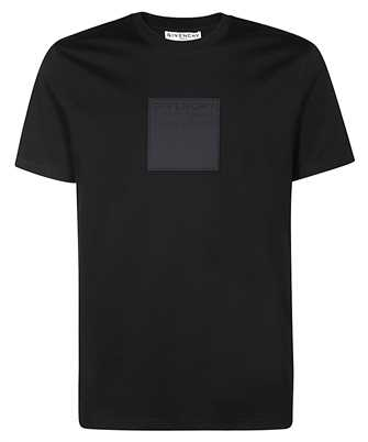 givenchy givenchy address patch slim-fit t-shirt