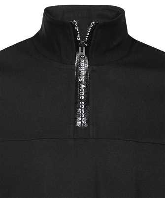 acne half zip sweatshirt