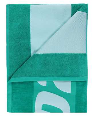 logo-print towel