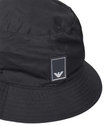 Emporio Armani TRAVEL ESSENTIALS NYLON CLOCHE Hat
