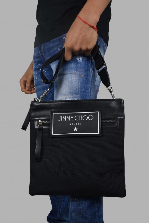 Luxury bag - Jimmy Choo black satchel