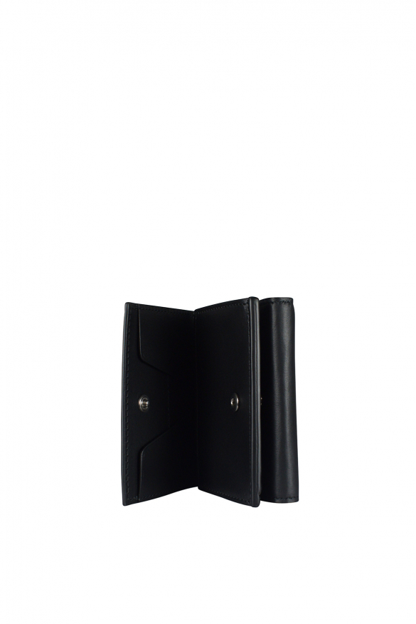 Men's luxury wallet - Givenchy wallet in black leather