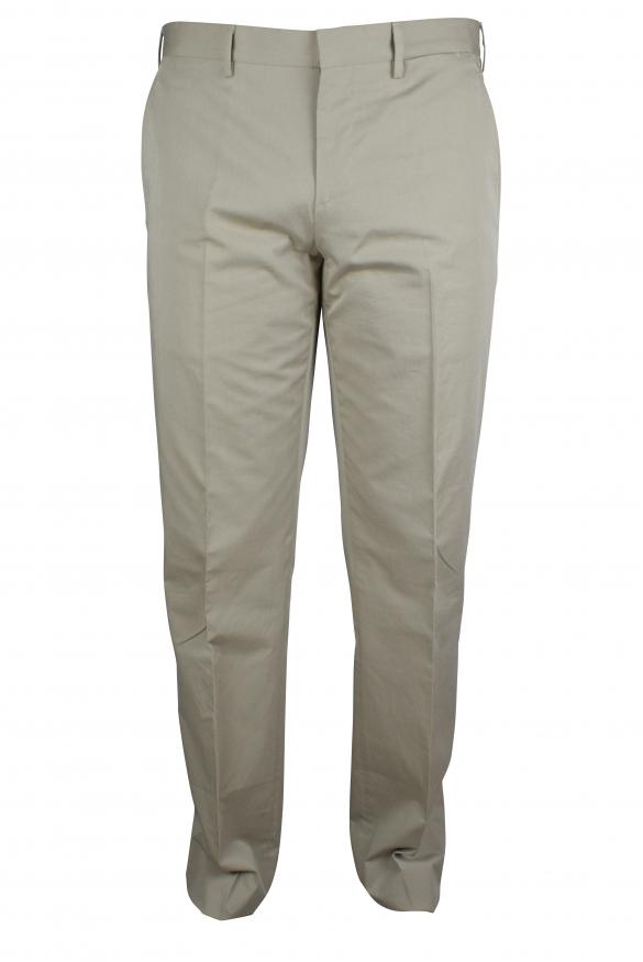 Luxury trousers for men - Prada beige trousers
