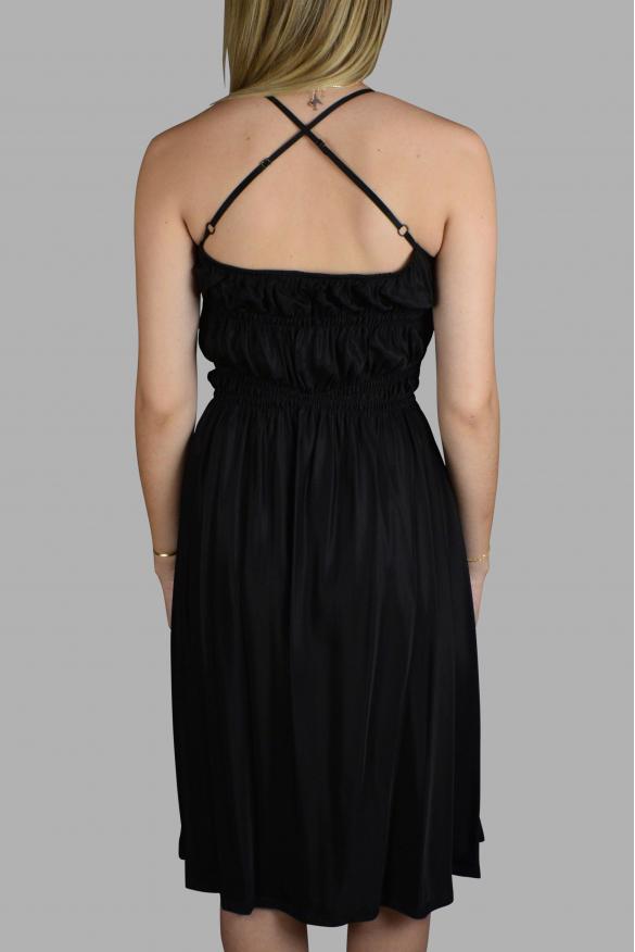 Luxury dress for women - Prada black fluid dress