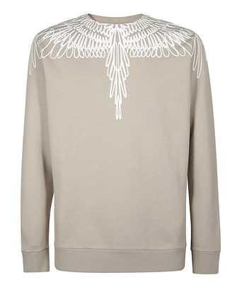 marcelo burlon pictorial wings sweatshirt