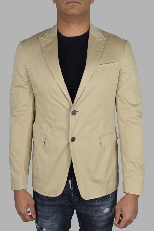 Men's luxury jacket - Prada beige cotton jacket