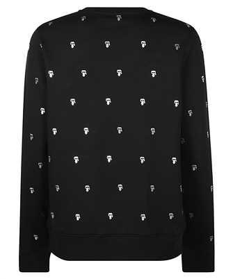 all-over print sweatshirt
