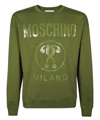 moschino double question mark sweatshirt