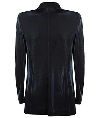 velvet peaked lapels blazer