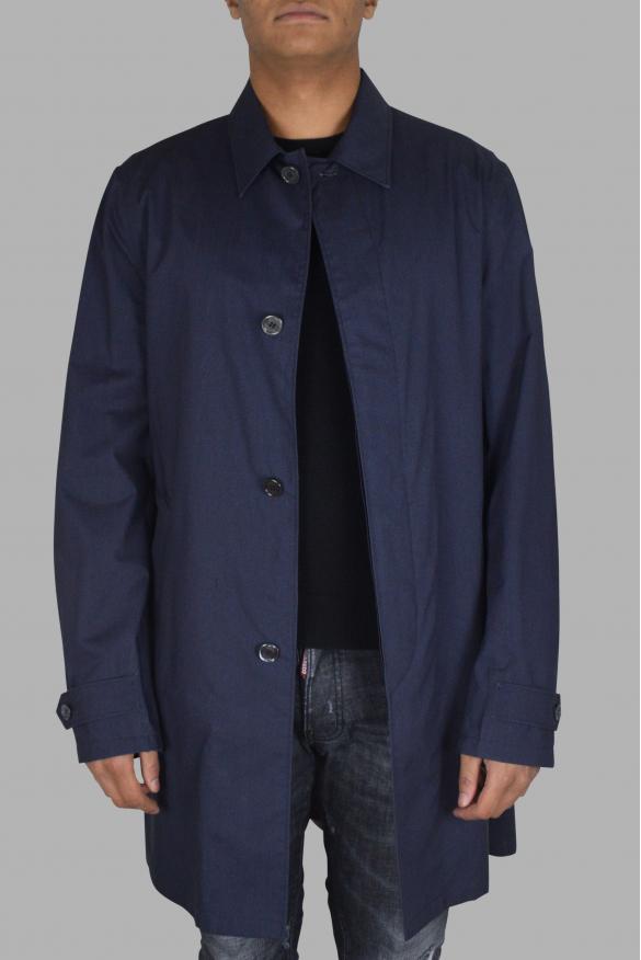 Men's luxury coat - Prada blue coat
