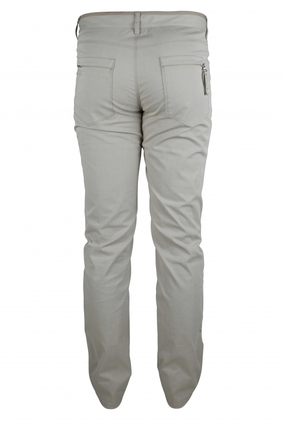 Luxury trousers for men - Prada beige trousers with zippers