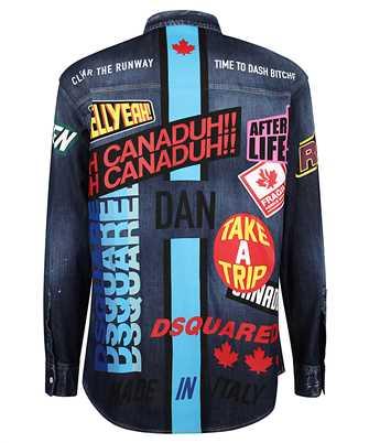 traveler long-sleeve denim shirt