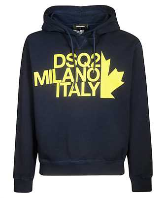 dsquared2 milano italy hoodie