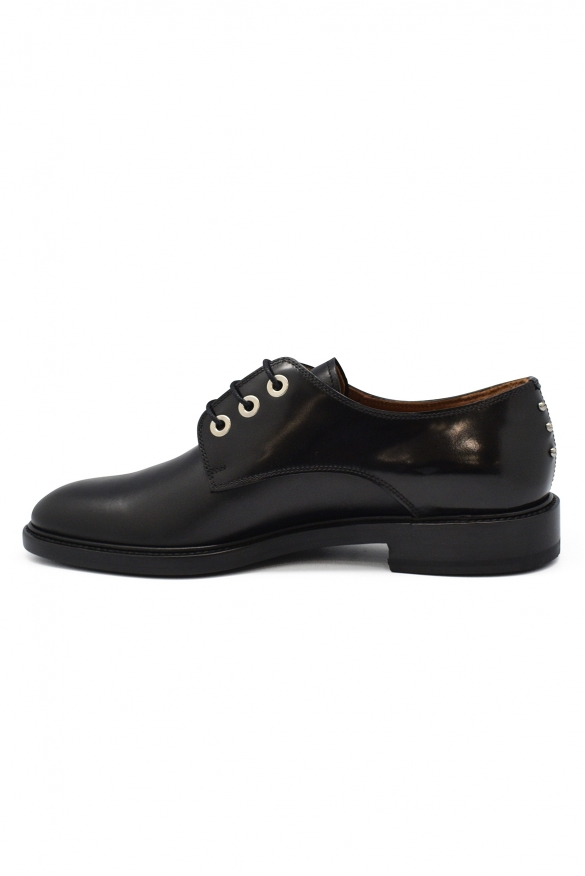 Luxury shoes for men - Givenchy black leather lace-up shoes
