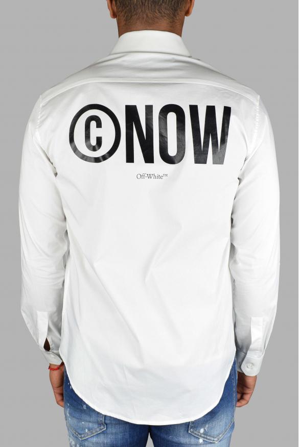 Luxury shirt for men - Off White white long sleeve shirt