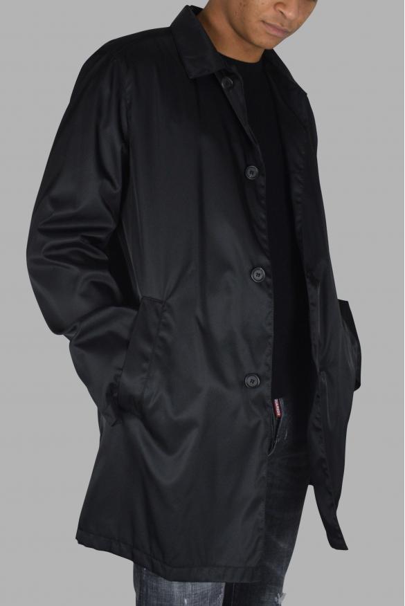 Men's luxury coat - Prada black coat