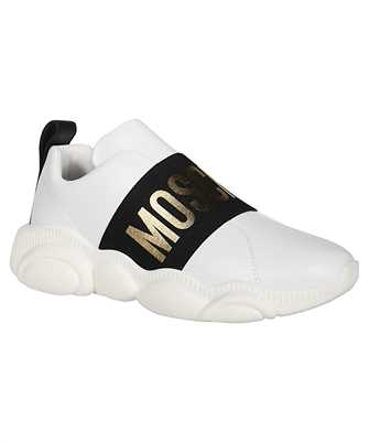elastic band teddy low-top sneakers