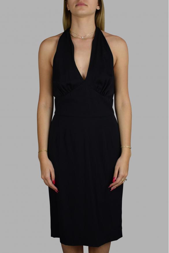 Luxury dress for women - Dolce & Gabbana black silk dress