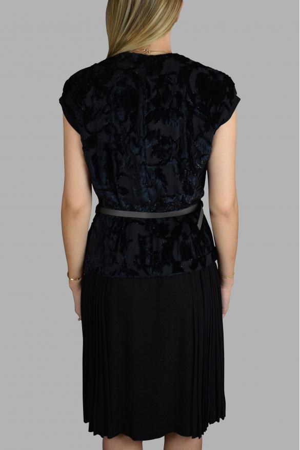 Luxury dress for women - Prada black dress with bow