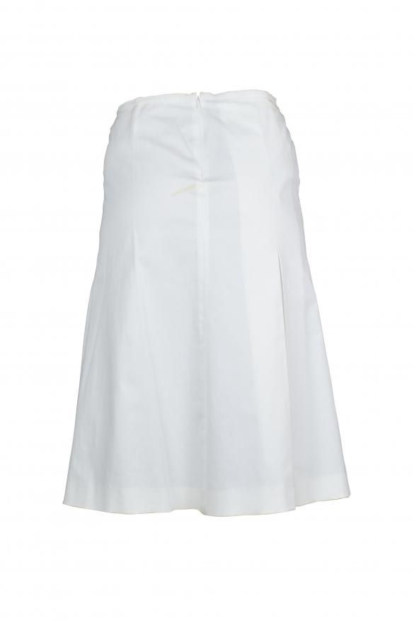 Luxury skirt for women - Prada white cotton skirt