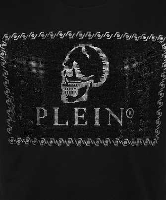 Philipp Plein ROUND NECK SS OUTLINE SKULL CRYSTAL T-shirt