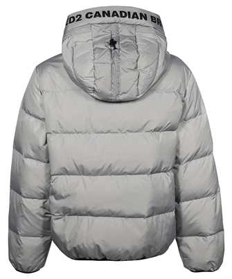 dsquared2 leaf puffer jacket