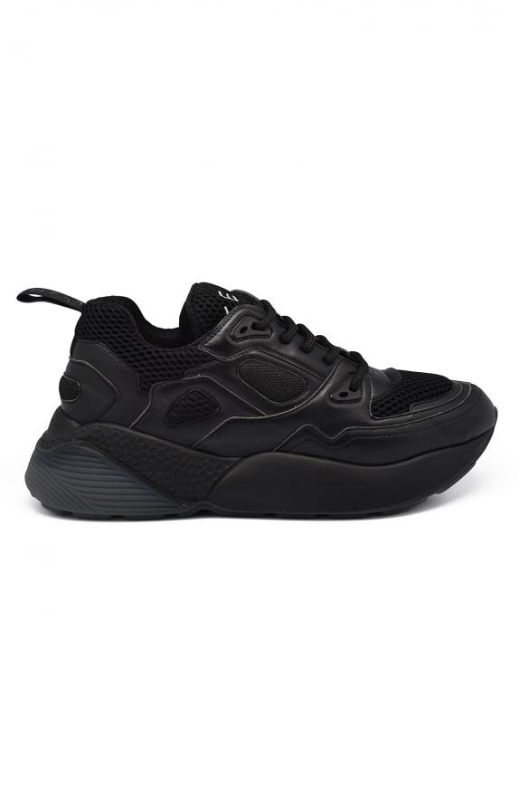 Men luxury sneakers - Stella McCartney Eclypse black sneakers