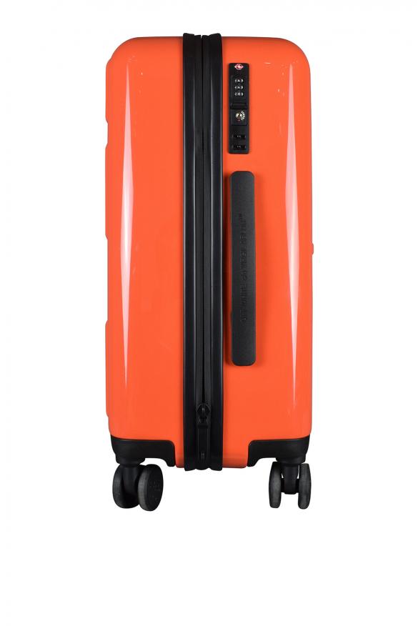 Luxury suitcase - Orange Off-White suitcase