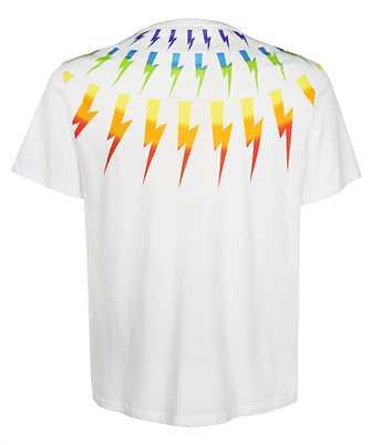 Neil Barrett FAIR-ISLE THUNDERBOLT T-shirt