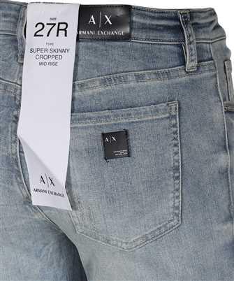 Armani Exchange SUPER SKINNY CROPPED Jeans
