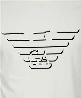 Emporio Armani EAGLE FLOCK LOGO T-shirt