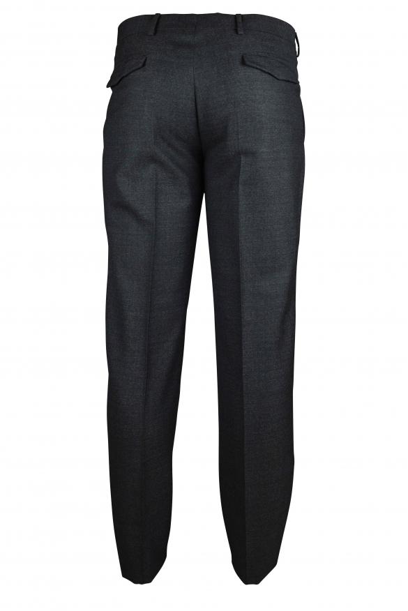 Luxury trousers for men - Prada dark gray trousers