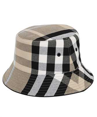 Burberry CHECK COTTON JACQUARD BUCKET Hat