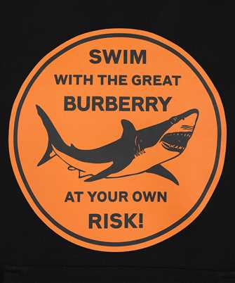 Burberry SHARK GRAPHIC COTTON Hoodie