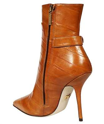 crossed logo ankle boots
