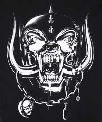 Vetements BIG SKULL MOTORHEAD T-shirt