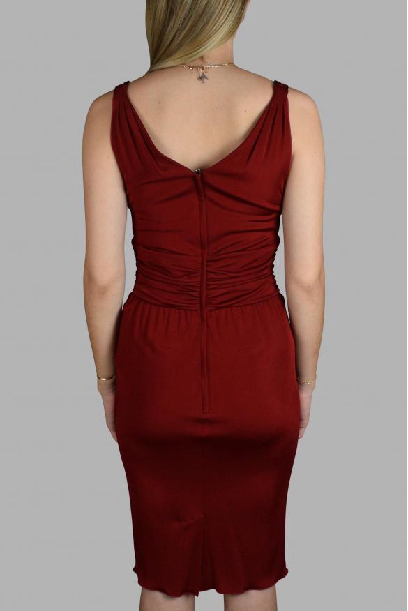 Luxury dress for women - Dolce & Gabbana red fluid dress