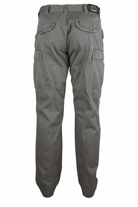 Luxury pants for men - Dolce & Gabbana khaki cargo pants