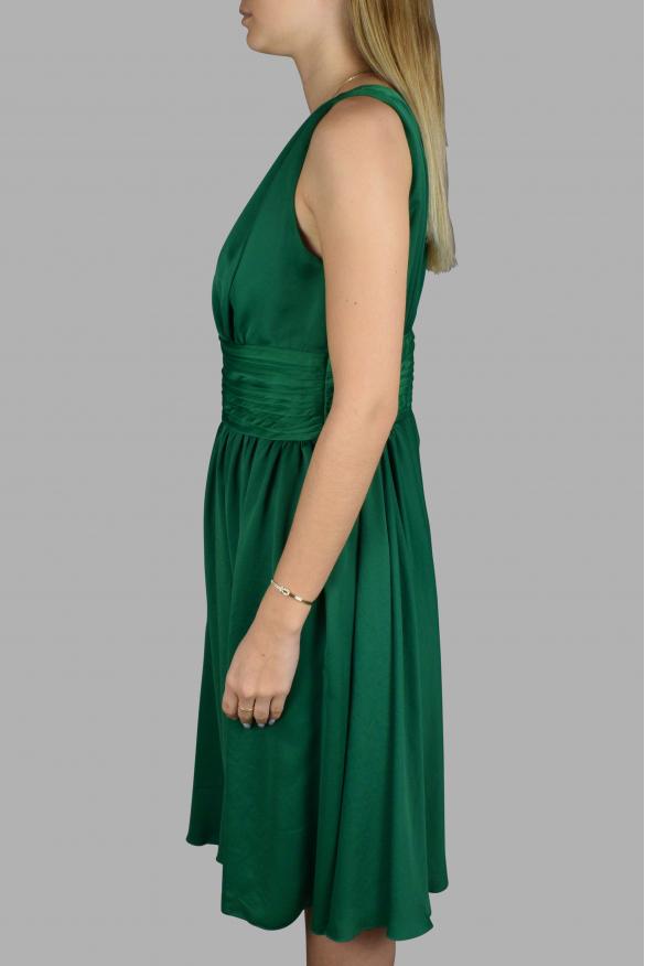 Luxury dress for women - Prada green dress with neckline