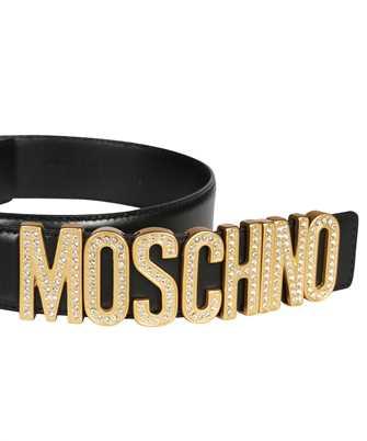 Moschino RHINESTONES LOGO Belt