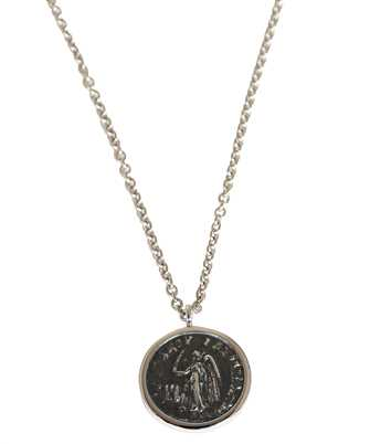 Tom Wood COIN ANGEL 27 INCHES Necklace