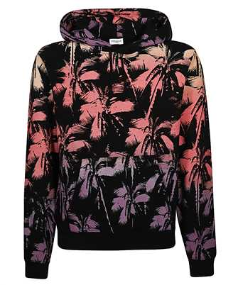 saint laurent palm hoodie
