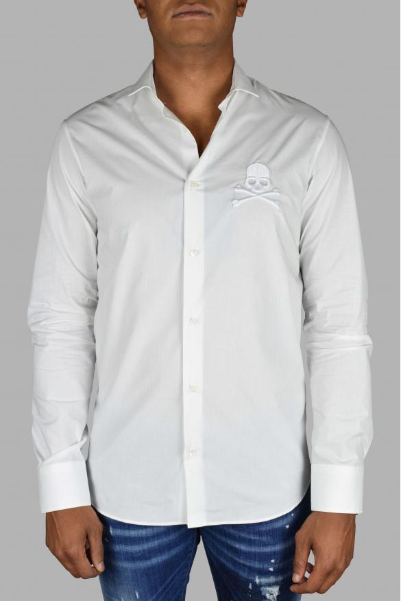 Luxury shirt for men - White Philipp Plein shirt