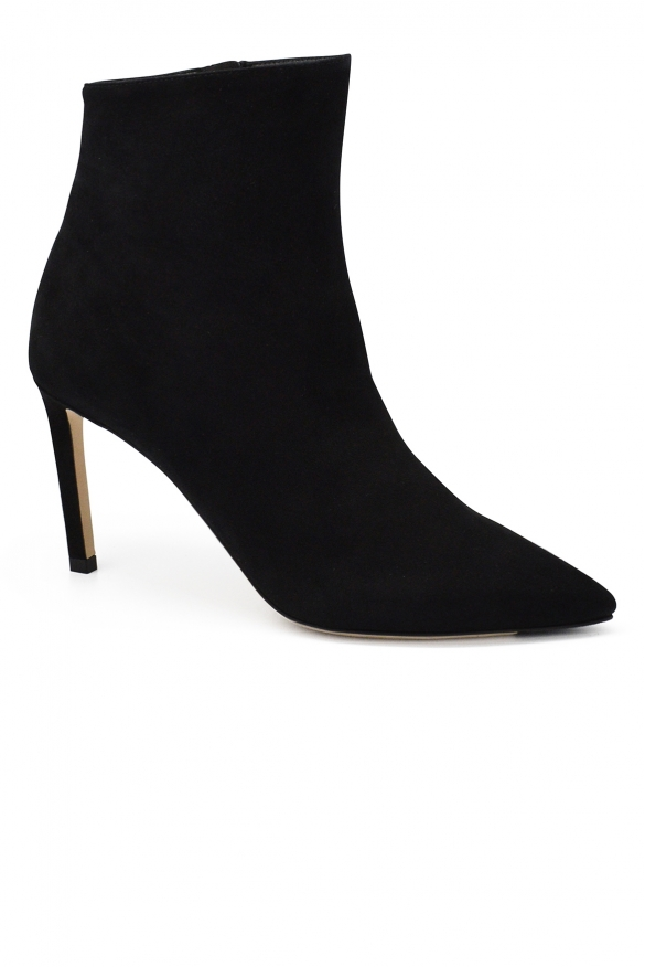 Luxury shoes for women - Jimmy Choo Hurley 85 black boots