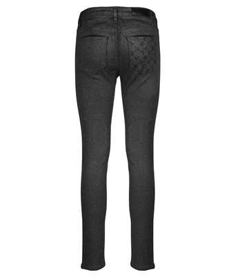 sparkle denim skinny jeans