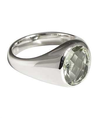 tom wood lizzie green quartz ring