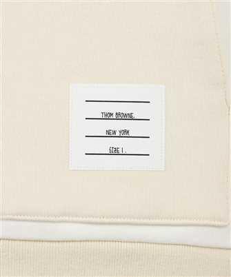 Thom Browne YELLOW TONAL FUN-MIX CLASSIC COTTON LOOPBACK 4-BAR Hoodie
