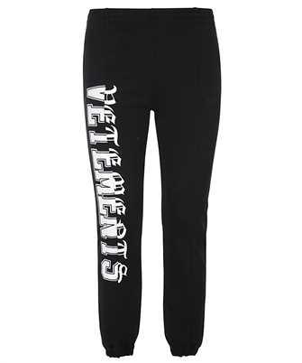 Vetements VERTICAL CUT-UP LOGO ZIP-UP Trousers