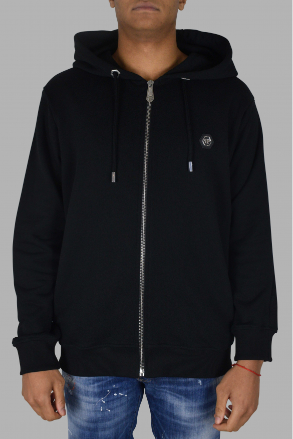 Men's designer hoodies - Philipp Plein black Hoodie Sweatshirt PP1978