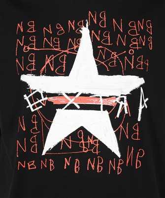 neil barrett hand painted star t-shirt